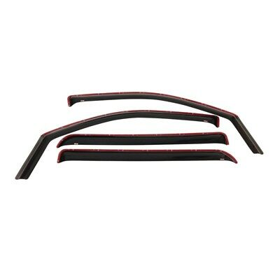 Westin 2007-2013 Chevrolet/GMC Avalanche Wade In-Channel Wind Deflector 4pc - Sm