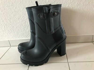 HUNTER HIGH HEEL Gummistiefel rainboots Original high