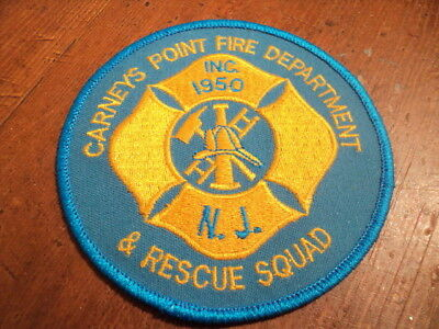 Fire Rescue Patch, Carneys Point Fire Department & Rescue Squad, New Jersey