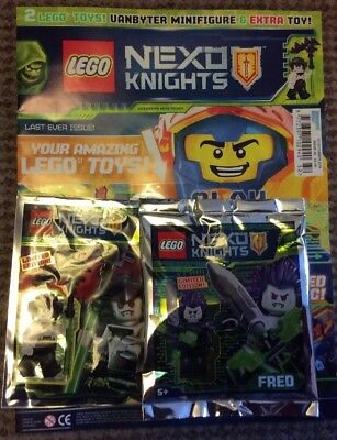 Lego Nexo Knights Issue 32 New With 2 Limited Edition Figures