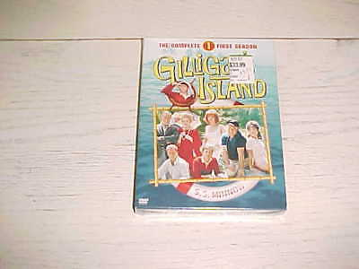 NEW & SEALED Gilligans Island - The Complete First Season DVD Movie TV Video