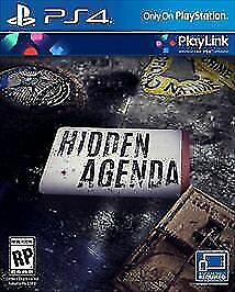 Hidden Agenda RE-SEALED Sony PlayStation 4 PS PS4 GAME