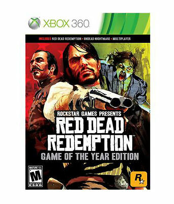 Red Dead Redemption Game of the Year Edition GOTY RE-SEALED Microsoft Xbox 360