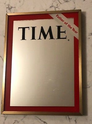 TIME Magazine Cover MIRROR Father Of The Year Dated 1970 VTG