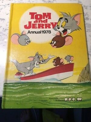 Vintage Tom and Jerry 1978 Annual