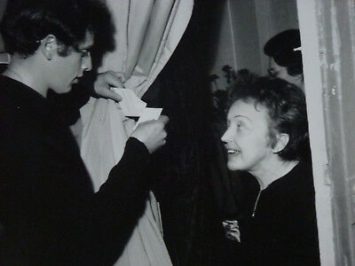 Edith Piaf !! Très Belle photo ancienne septembre 1962 !