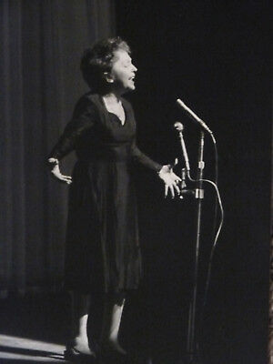 Edith Piaf !! Très Belle photo ancienne Olympia !