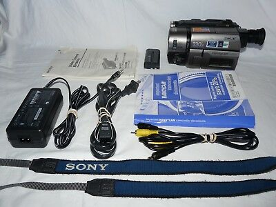 Sony Handycam CCD-TRV46 8mm Video8 HI8 Camcorder Player Camera Video Transfer