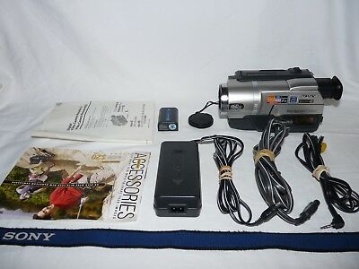 Sony Handycam CCD-TRV108 8mm Video8 HI8 Camcorder Player Camera Video Transfer