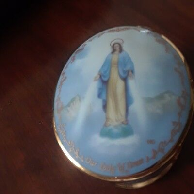 Religious Music Box Our Lady of Grace