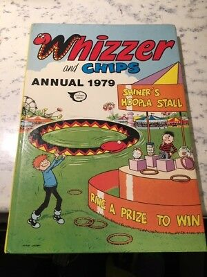 Vintage Whizzer and Chips 1979 Annual