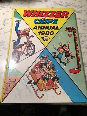 Vintage Whizzer and Chips 1980 Annual