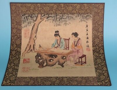 Vintage Paper Painting Hand Painting Belle Home Decoration Gift Collection