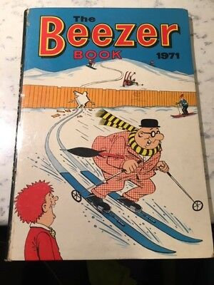 Vintage the Beezer Book 1971 Annual