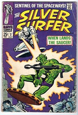 Silver Surfer #2, Very Good Condition