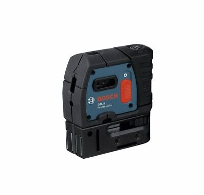 Bosch GPL 5 S 5-Point Self Leveling Alignment Laser, New!