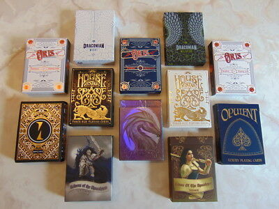 Playing Cards Collector Brick (House of the Rising Spade, Oris, Draconian, ++)