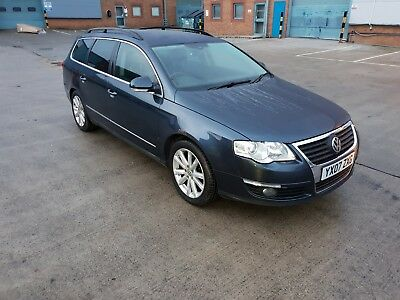 2007 Volkswagen Passat Estate Sport TDI 170 SPARES OR REPAIR (starts and drives)
