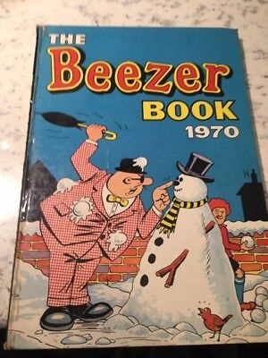Vintage the Beezer Book 1970 Annual
