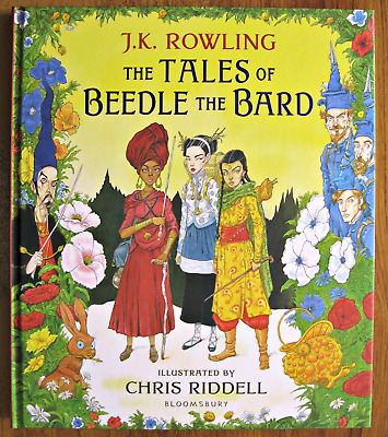 The Tales Of Beedle The Bard: - Illustrated -  SIGNED by ILLUSTRATOR + TOTE BAG