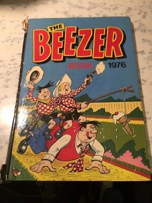 Vintage the Beezer Book 1976 Annual