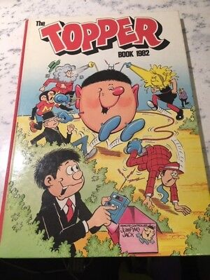 Vintage The Topper Book 1982 Annual