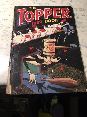 Vintage The Topper Book 1968 Annual