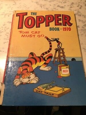 Vintage The Topper Book 1970 Annual