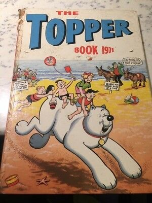 Vintage The Topper Book 1971 Annual