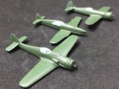 WWII Recognition/ID Models- (3) Single Engine Comet- NO Reserve!