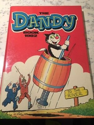 Vintage The Dandy Book 1982 Annual