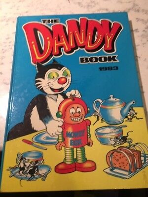 Vintage The Dandy Book 1983 Annual