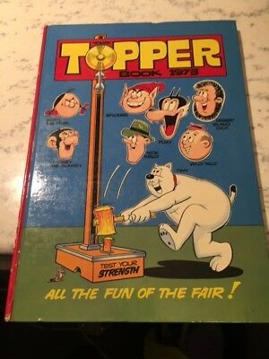 Vintage The Topper Book 1973 Annual