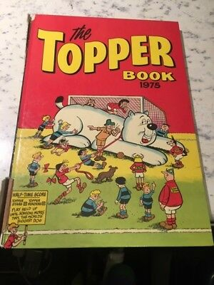 Vintage The Topper Book 1975 Annual