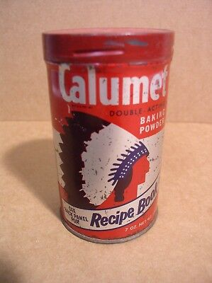 Calumet Baking Powder Can General Foods White Plains NY