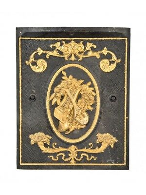 Victorian Era St. Louis Rowhouse Cast Iron Fireplace Summer Cover