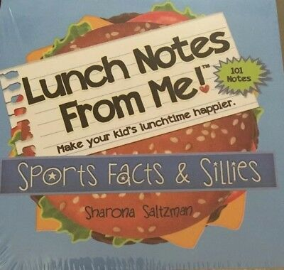 Lunchbox Love Notes For Kids Sports 101 Positive Lunch Fun Educational Trivia