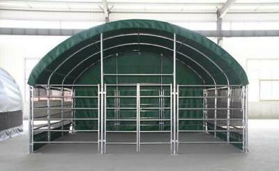 Livestock Shelter Farm Storage Building Horse Sheep Portable Field Shelter