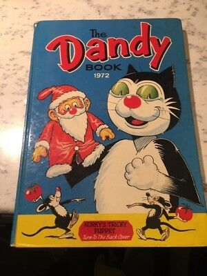 Vintage The Dandy Book 1972 Annual