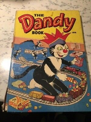 Vintage The Dandy Book 1976 Annual