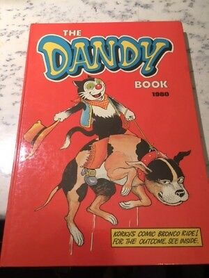 Vintage The Dandy Book 1980 Annual