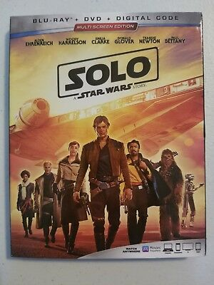 Solo: A Star Wars Story (Blu-ray/DVD/Digital Code, 2018)