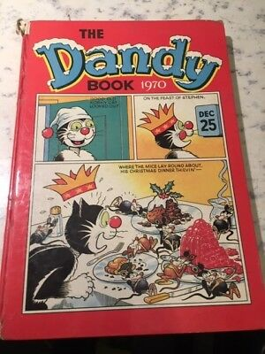 Vintage The Dandy Book 1970 Annual