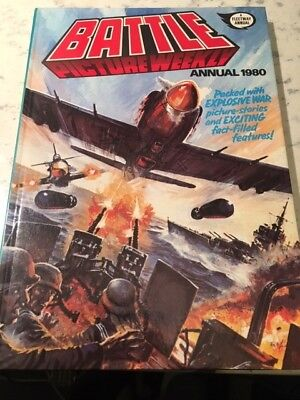 Vintage Battle Picture Weekly 1980 Annual