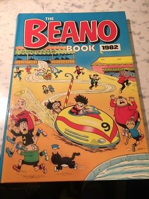 Vintage The Beano Book 1982 Annual