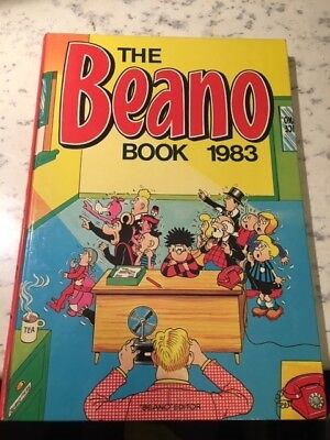 Vintage The Beano Book 1983 Annual