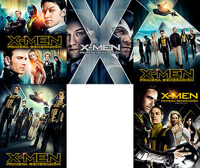 Magnetic cover art for X-men first class Multi-lenguage steelbook Blu-ray