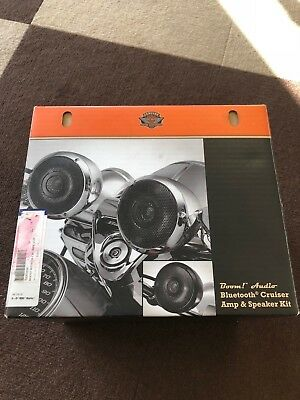 Harley Davidson Boom Audio Bluetooth Cruiser Amp & Speaker Kit