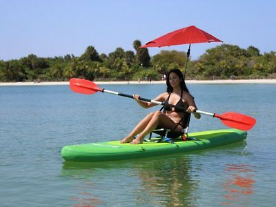83f3bd2a2a65 Inflatable PVC Sit Down or Stand Up Paddle Board Surf Board Dingy Raft Boat