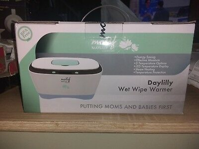 "Motif Maylilly Collection ""Daylilly"" Wet Wipe Warmer NIB"